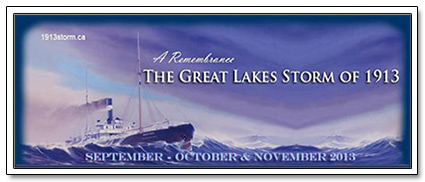 1913 Great Lakes Storm Remembrance